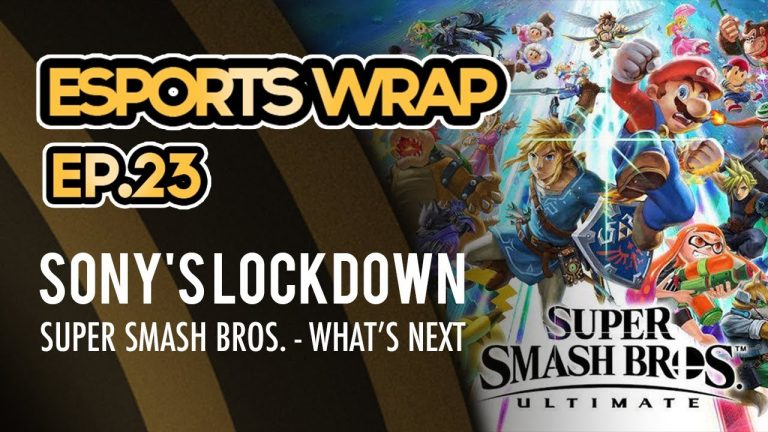 eSports Wrap 23: Sony Cross Platform Ban & Super Smash Bros Ultimate