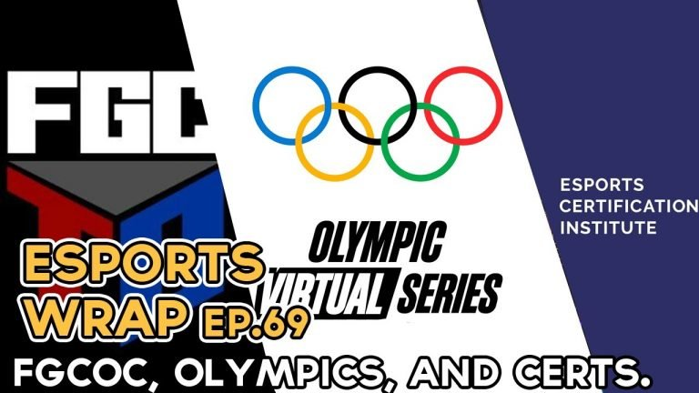 Esports Wrap 69: FGCOC, Olympic Virtual Series & Esports Certification Institute