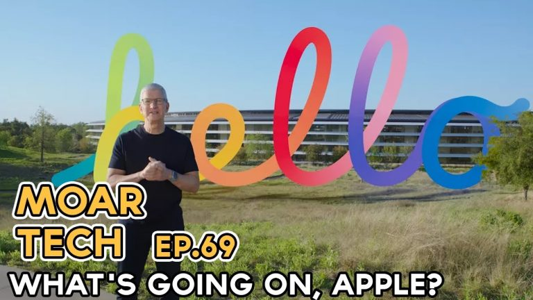 MOAR Tech 69: What's going on, Apple?